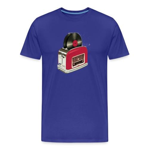 Red Vinyl Toast png - Männer Premium T-Shirt