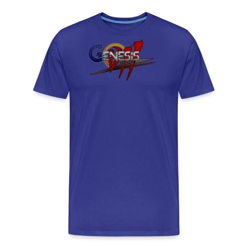 GenesisVII 'Seven' Logo - Men's Premium T-Shirt
