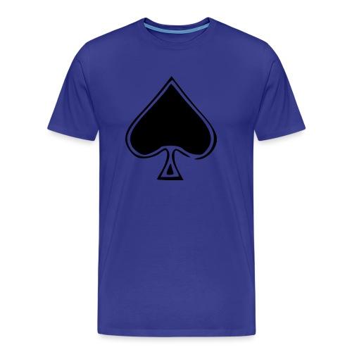 Spade - Miesten premium t-paita
