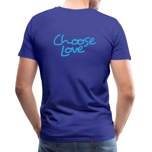 Logo + Choose Love - Men's Premium T-Shirt