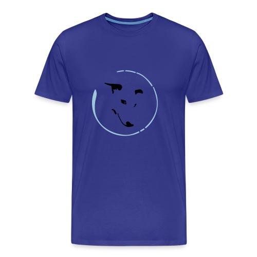 Whippet Virgule cercle - T-shirt Premium Homme
