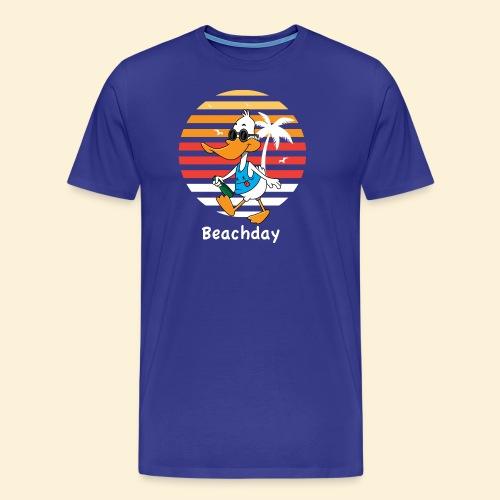 Beach Duck - Männer Premium T-Shirt