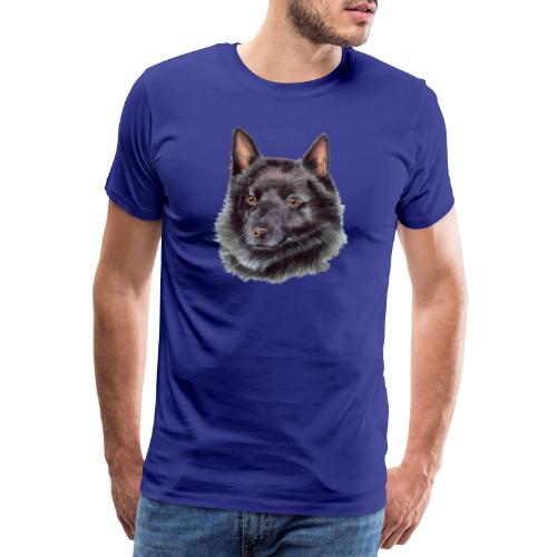 schipperke - akv - Herre premium T-shirt