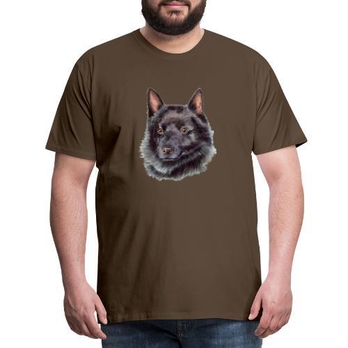 schipperke - M - Herre premium T-shirt