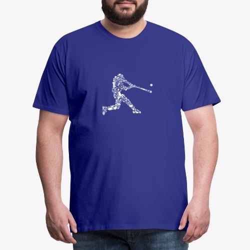 Joueur de baseball - T-shirt Premium Homme