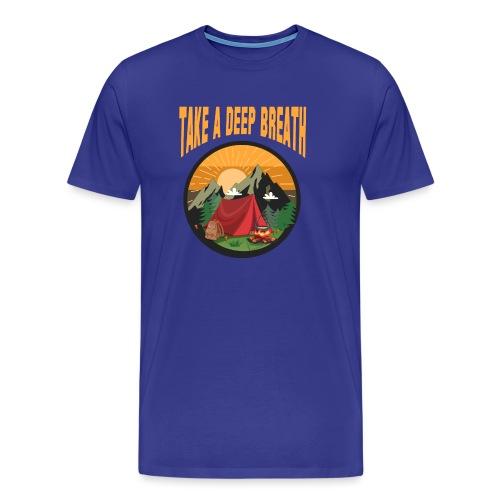 Bushcraft - Take a deep breath - Männer Premium T-Shirt