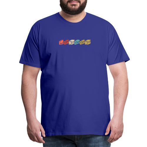 Retro London Souvenir - Vintage London - Männer Premium T-Shirt