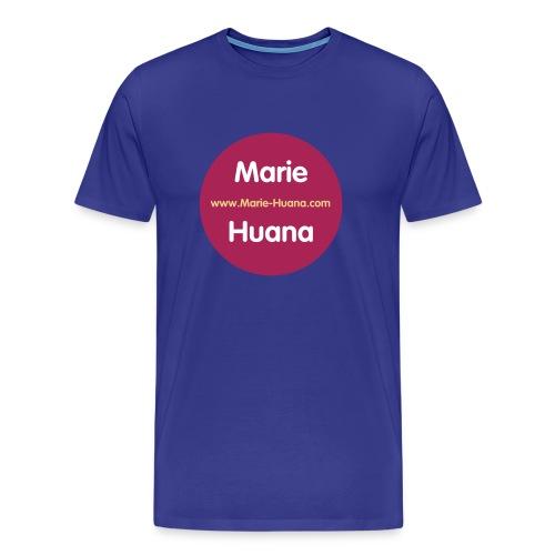 button_marie_huana_01 - Männer Premium T-Shirt
