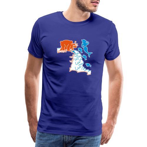 Surprised Bear - Men's Premium T-Shirt