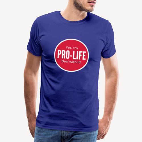 YES I'M PRO-LIFE - Men's Premium T-Shirt