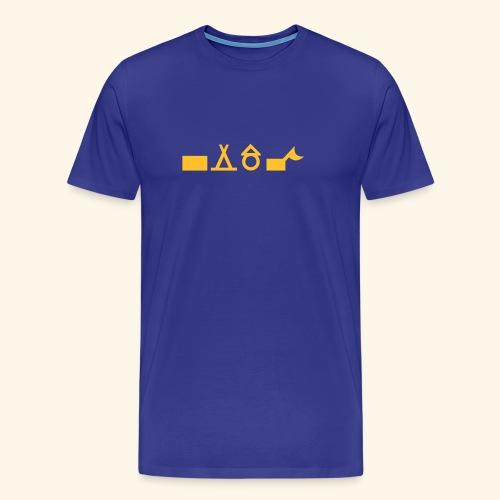 Unterkünfte 3 - Männer Premium T-Shirt