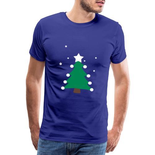 sapin de(avec étoiles),fêtes,formes,cadeaux - T-shirt Premium Homme