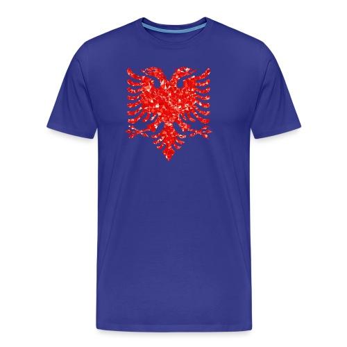 Ruby Double Headed Eagle png - Männer Premium T-Shirt