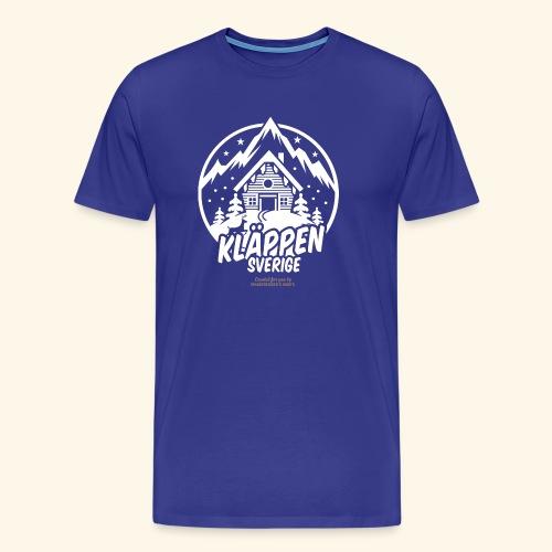 Kläppen Sälen Sverige Ski Resort T Shirt Design - Männer Premium T-Shirt