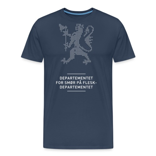Departementsdepartementet (fra Det norske plagg) - Premium T-skjorte for menn