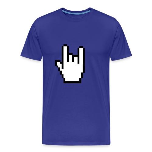 cuernos - Camiseta premium hombre
