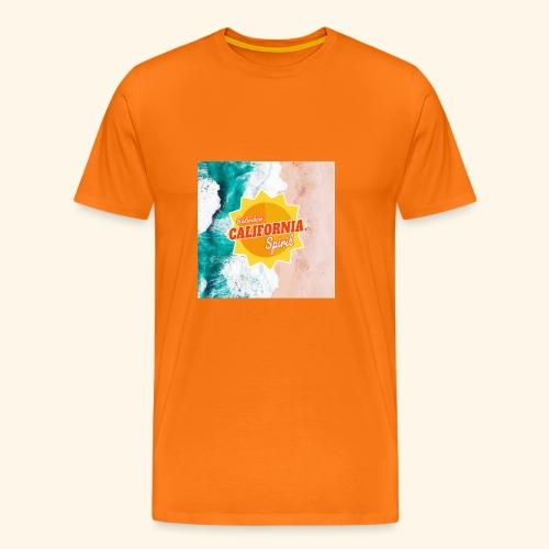 California Spirit Surfin - T-shirt Premium Homme