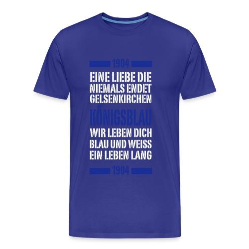 GE Schrift Typo - Männer Premium T-Shirt