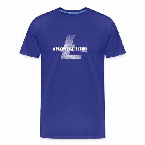 #paywithlitecoin - Maglietta Premium da uomo