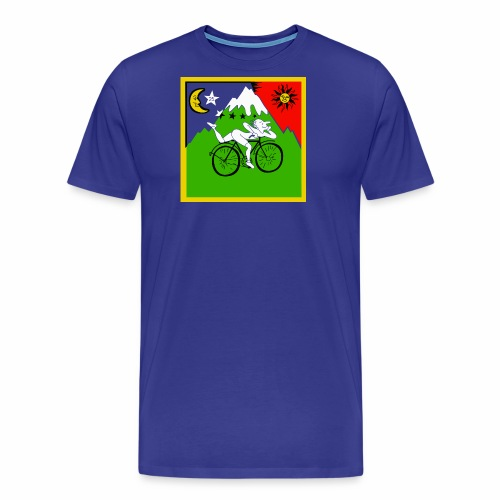 Bicycle Day Blue Shirt - Men's Premium T-Shirt