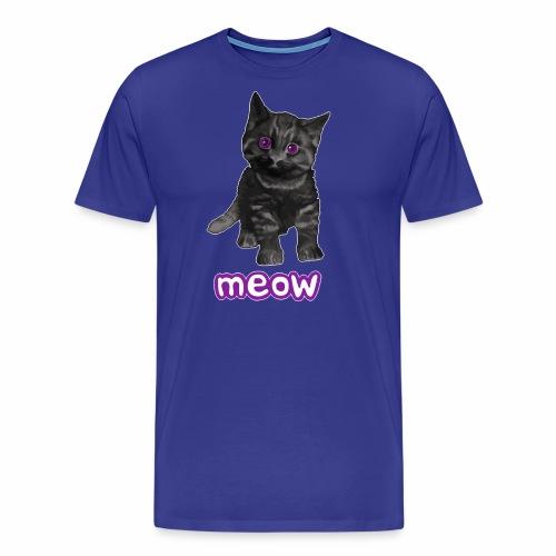 Katze Schwarz - Männer Premium T-Shirt