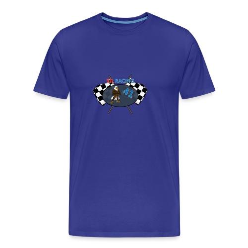 SJL-Racing logo - Mannen Premium T-shirt