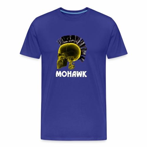 Skull yellow - Mannen Premium T-shirt