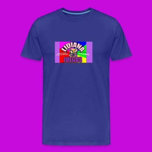 LIDIANA JUEGOS - Men's Premium T-Shirt