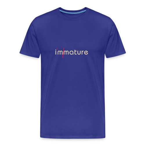 immature - Men's Premium T-Shirt