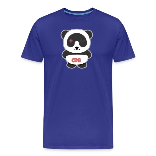 panda logo png - Men's Premium T-Shirt