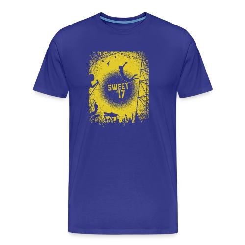 Sweet '17 Festival Summer -gelb - Männer Premium T-Shirt