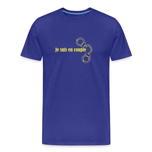 Je suis en couple - T-shirt Premium Homme