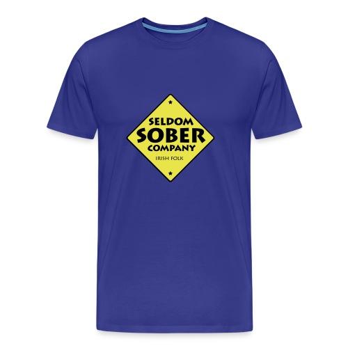 Seldom Sober Company Logo - Männer Premium T-Shirt
