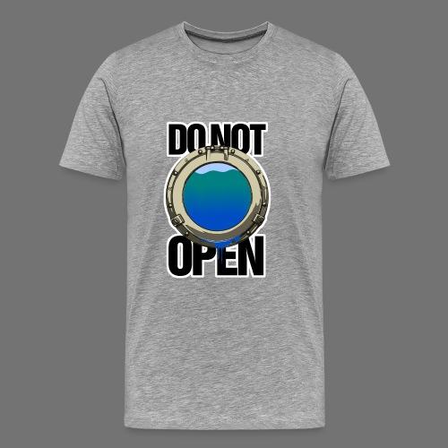 ÄLÄ AVAA (ikkuna / ikkuna) - Miesten premium t-paita