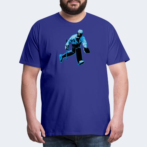 Feldhockey-Torwart - Männer Premium T-Shirt