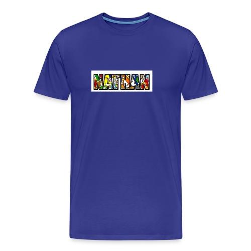 ClubPenguinFillNathan - Mannen Premium T-shirt