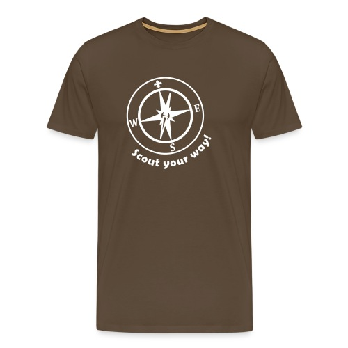 Scout your way - Men's Premium T-Shirt