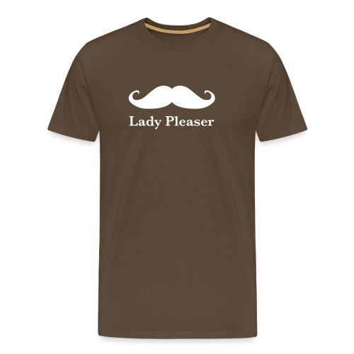 Lady Pleaser T-Shirt in Green - Men's Premium T-Shirt