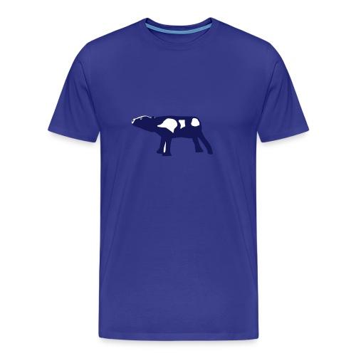 mooing calf - Men's Premium T-Shirt