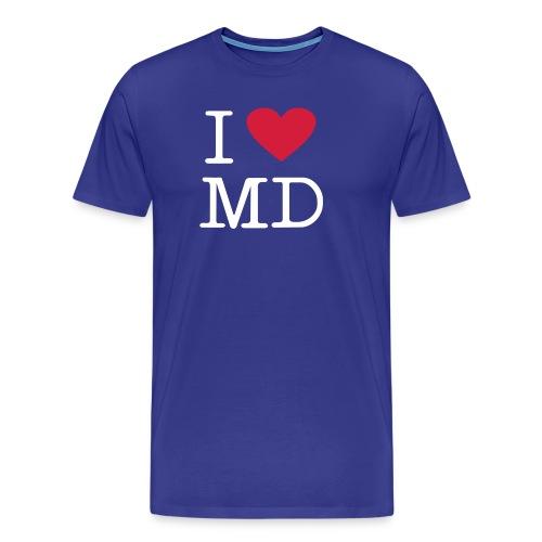 I Love MD - Männer Premium T-Shirt