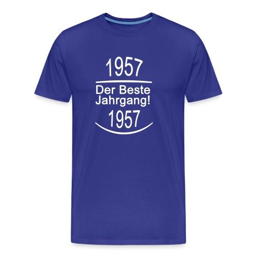 besterjahrgang 1957 - Männer Premium T-Shirt