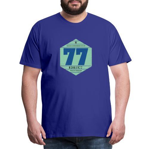 Vignette automobile 1977 - T-shirt Premium Homme