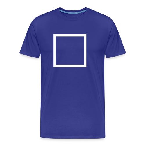 rechtecksymbol - Männer Premium T-Shirt