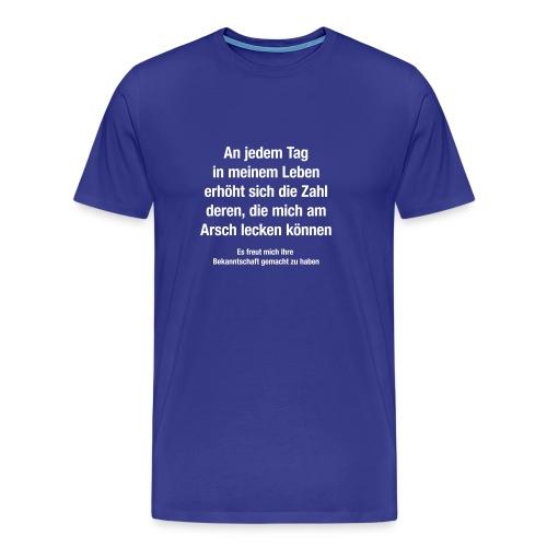 bekanntschaft - Männer Premium T-Shirt