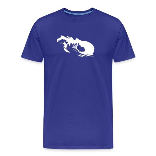 surfer umriss - Männer Premium T-Shirt