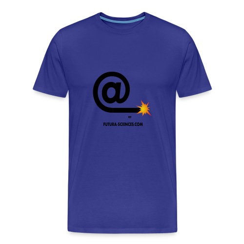 arobase meche noir - T-shirt Premium Homme