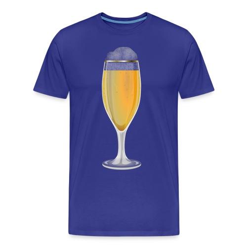 Bierglas - Männer Premium T-Shirt
