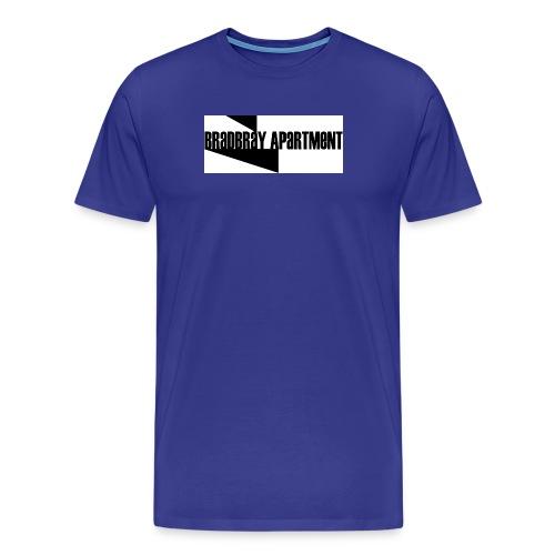 Bradbray Apartment b w The Band - Men's Premium T-Shirt