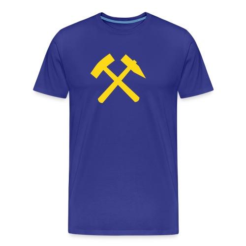 Schlägel und Eisen 01 - Männer Premium T-Shirt