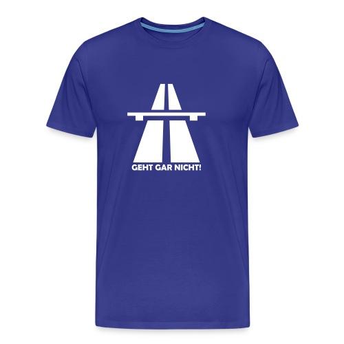 Autobahn-Zitat - Männer Premium T-Shirt